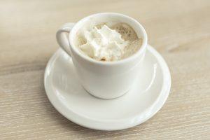 Café con crema de leche
