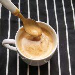 Taza de café batido