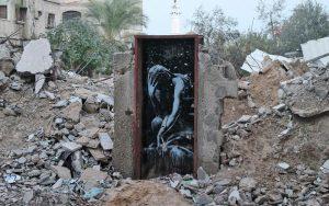 """Grafiti Banksy"""" TheThinker"""""""