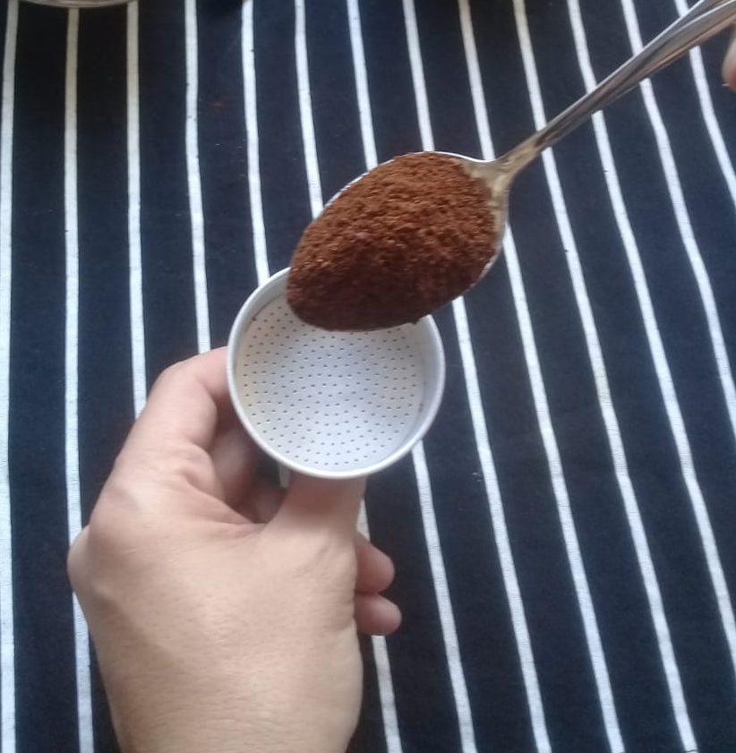 Café cuchara y filtro